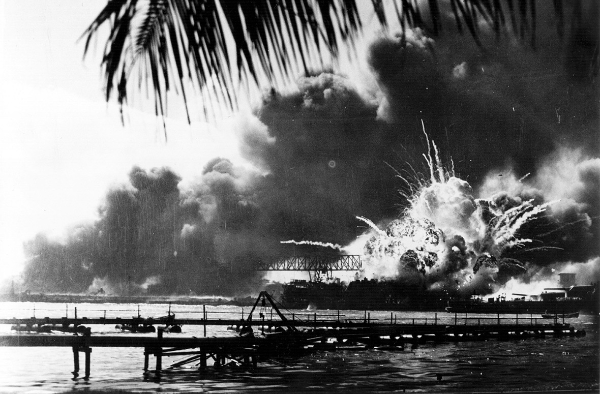 Pearl Harbor attack December 1941