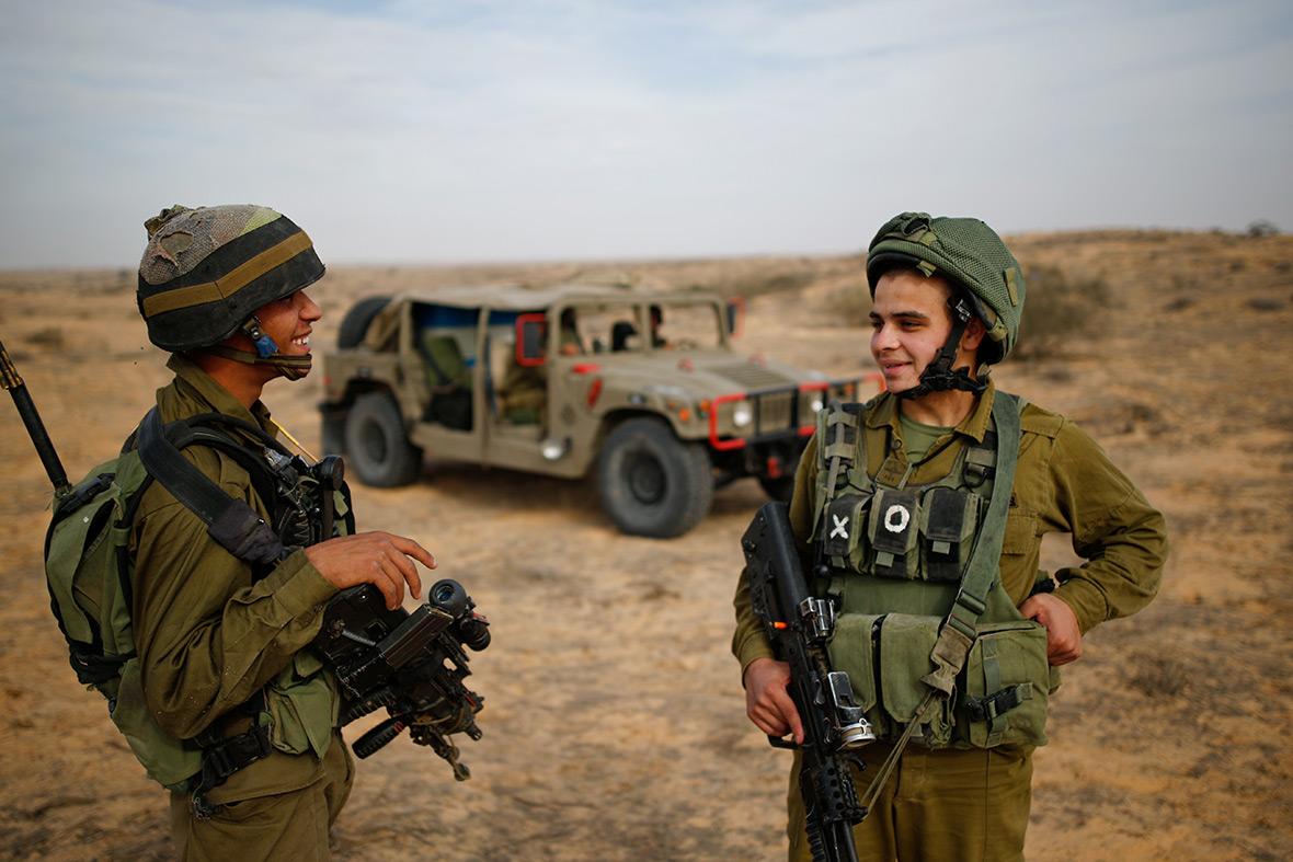 Arab Bedouin soldiers Israel Defences Force