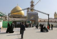The Shia al-Askari shrine in Samarra