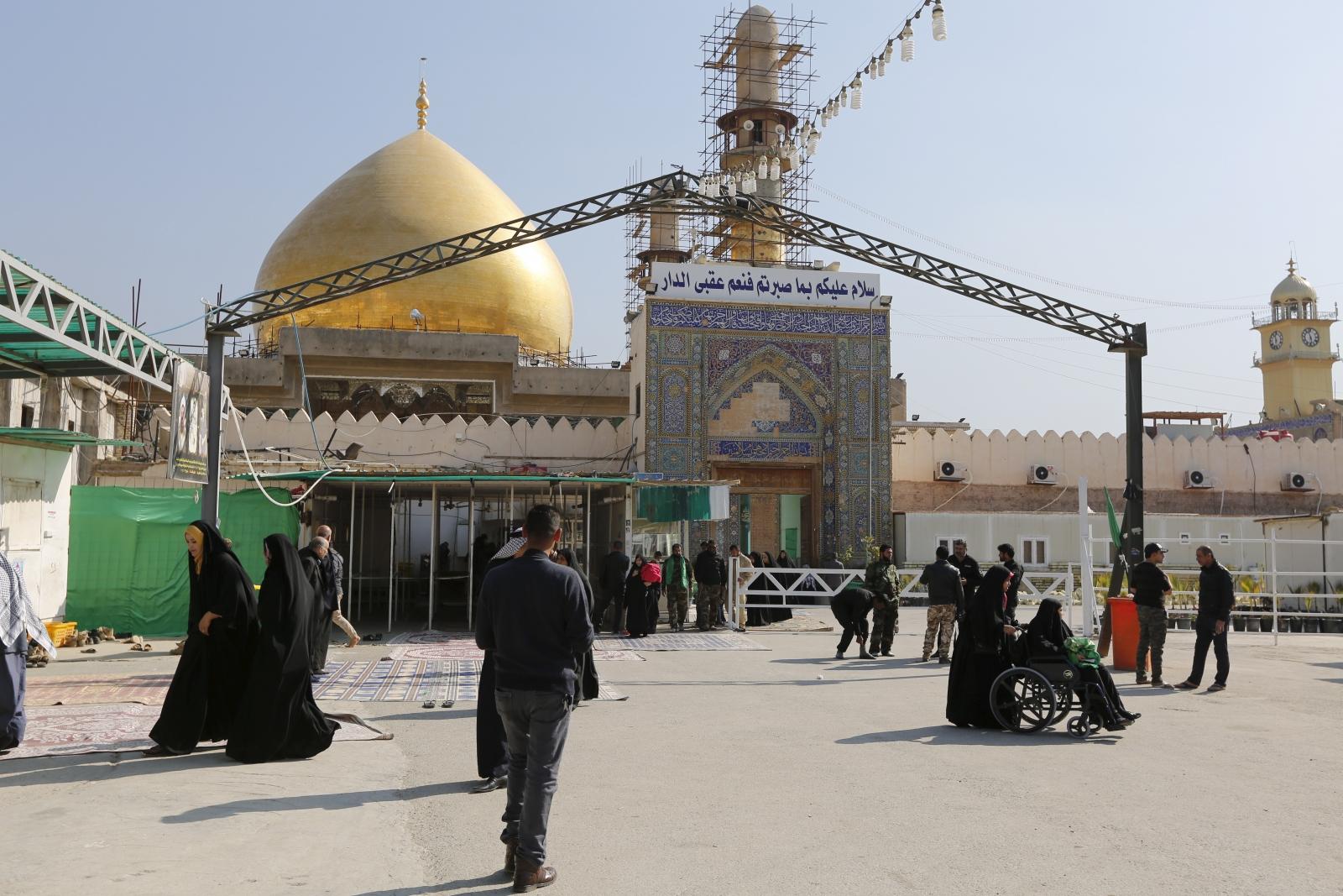 The Shia al-Askari shrine in Samarra