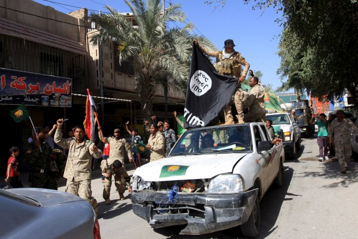 Shia paramilitary fighters