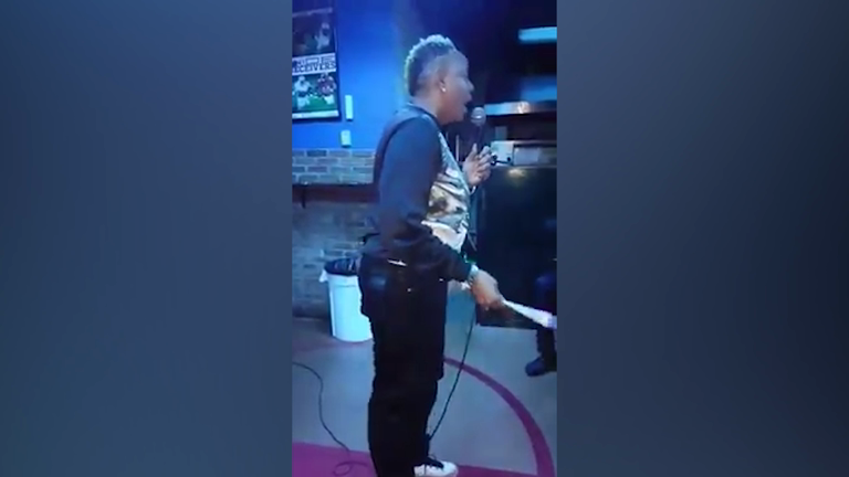 Comedian's stand up cut short by gunmen
