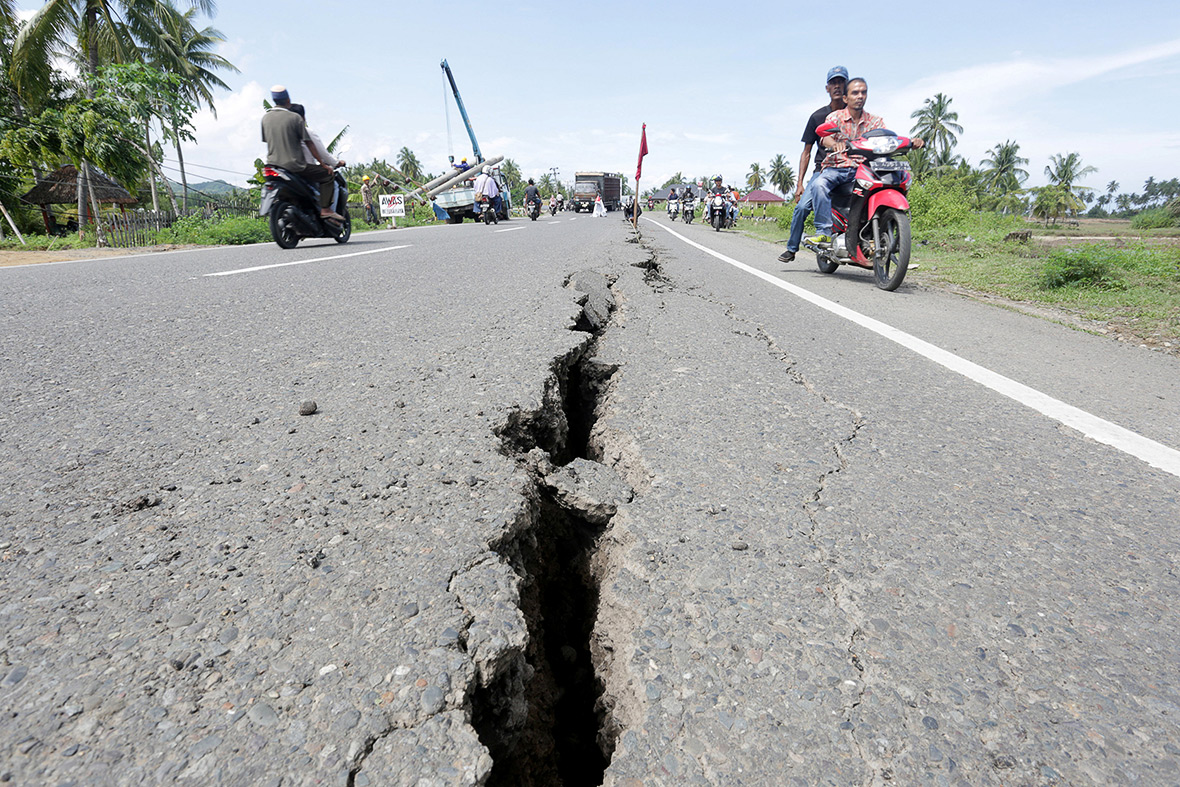 Indonesia earthquake