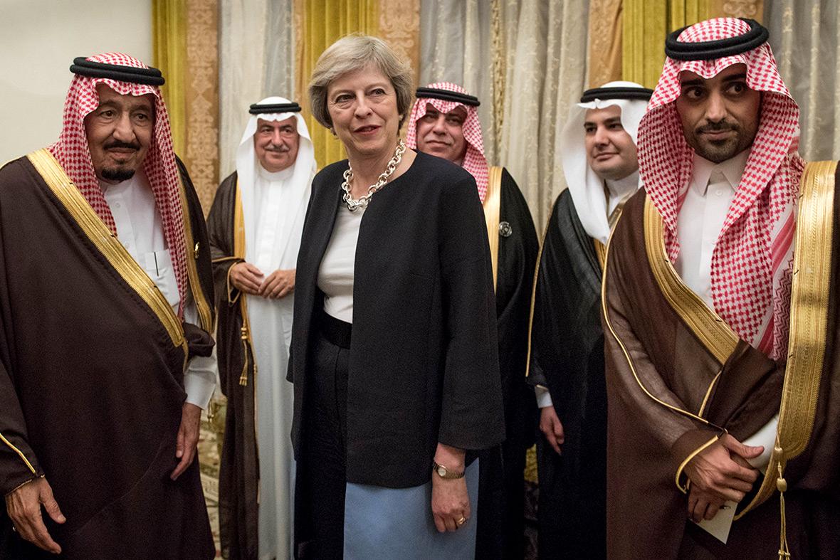 Theresa May Bahrain