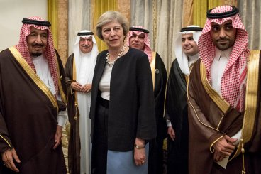 Theresa May Bahrain