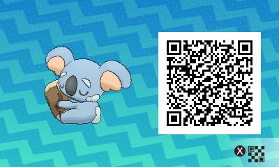 Pokemon Sun Moon QR Code