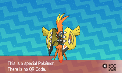 Pokemon Ultra Sun Qr Codes That Give You Pokemon 2019