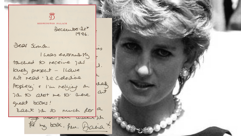 Princess Diana's morbidly ironic letter says she wanted to ...