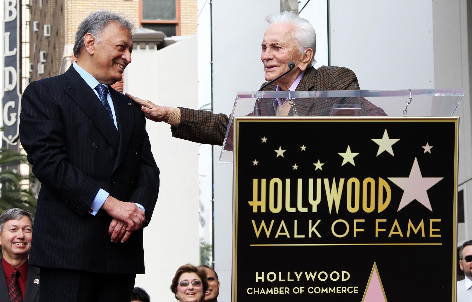 Kirk Douglas Hollywood Walk Of Fame