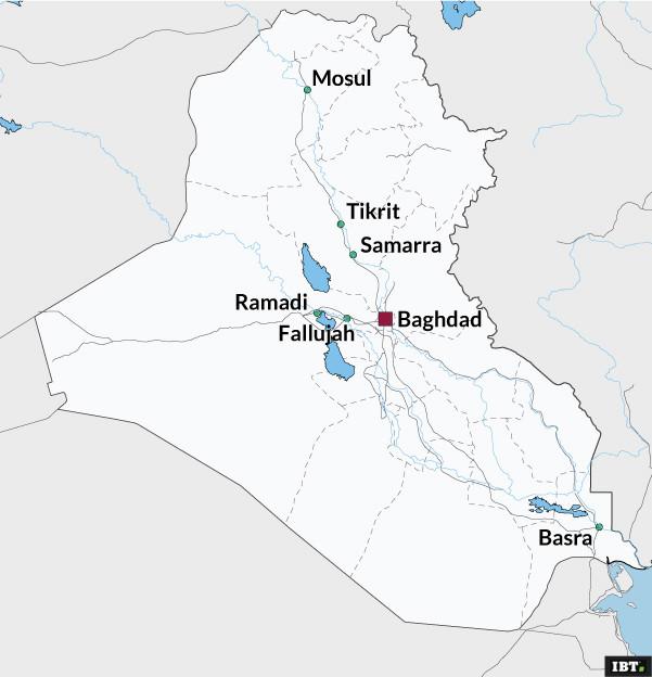 Iraq: map