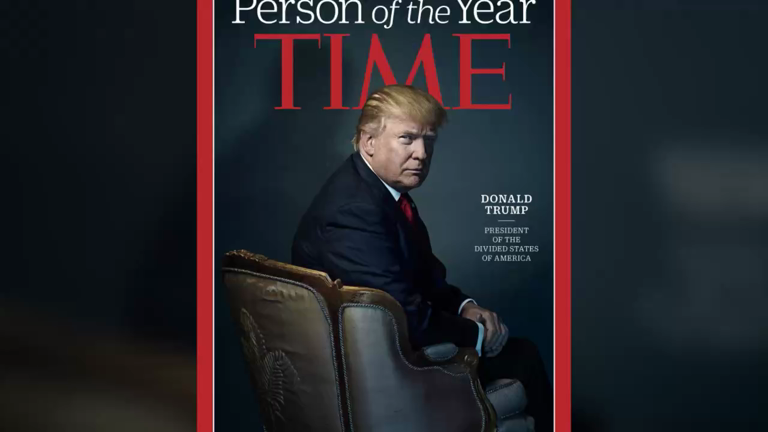 Donald Trump wins Time Person of the Year