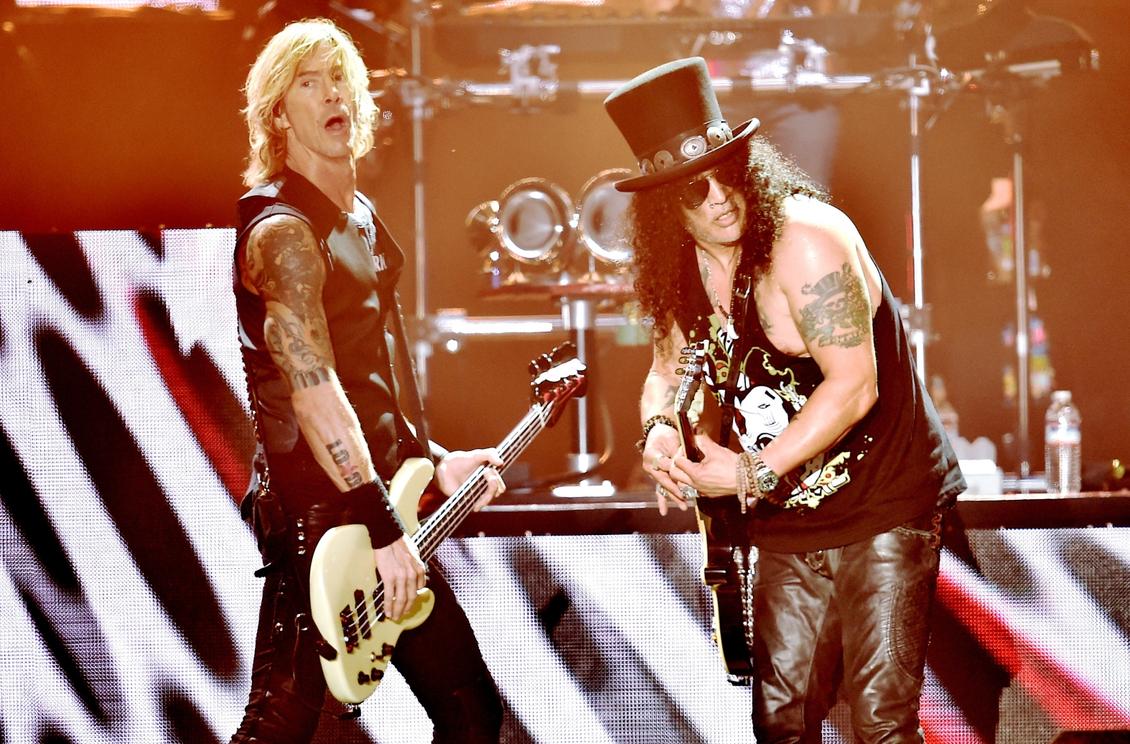 Guns N' Roses Slash and Duff McKagan