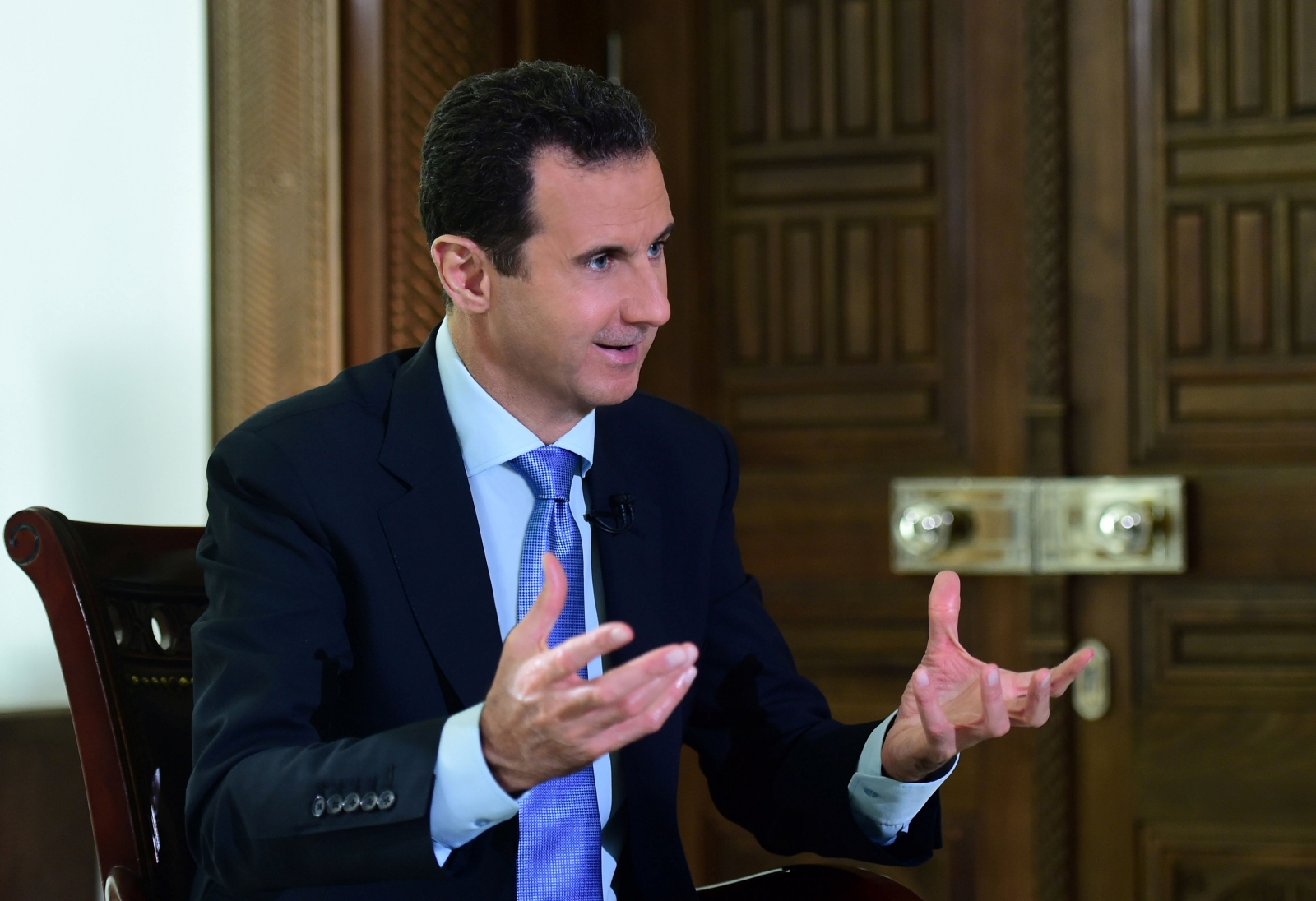 Syrian President Bashar-al Assad