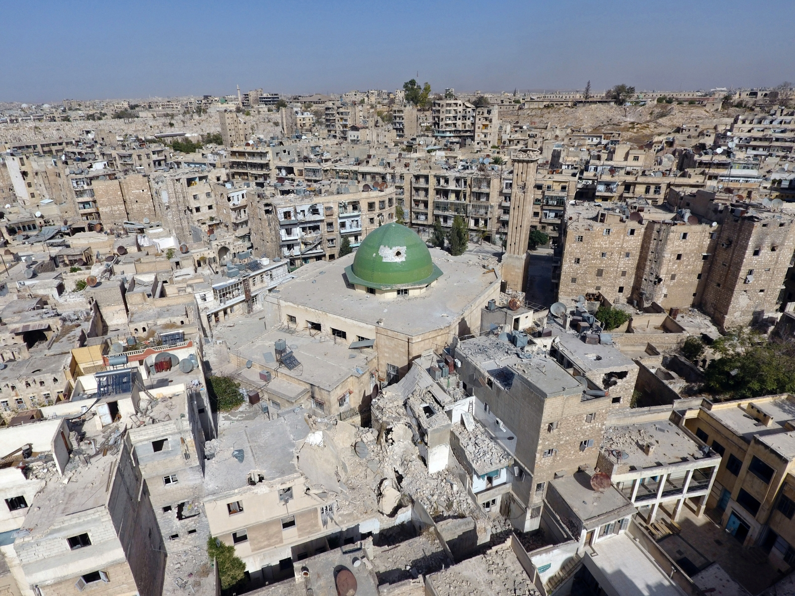 General view of Aleppo