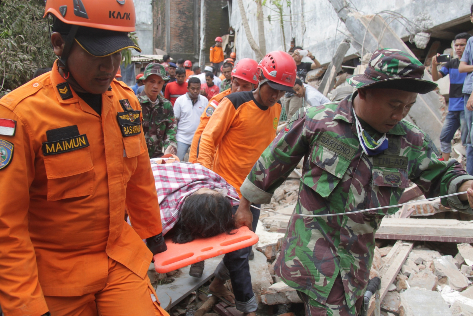 Aceh earthquake, indonesia