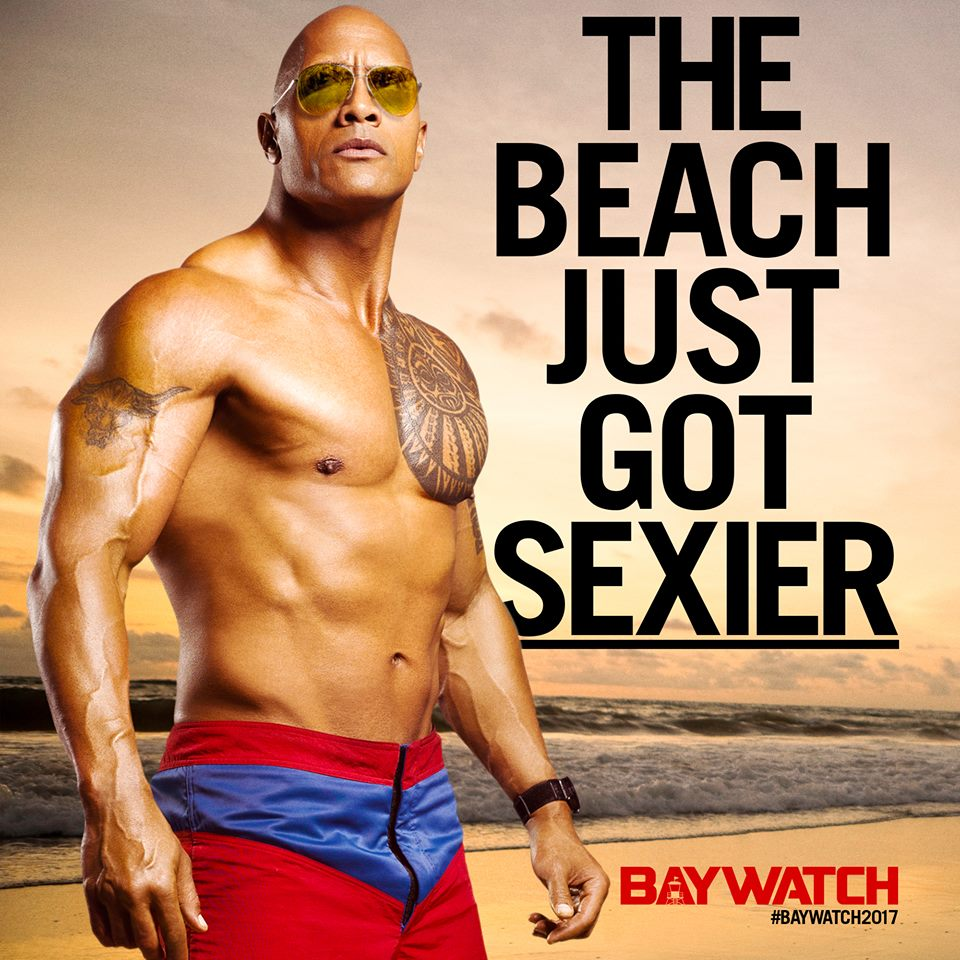 Dwayne Johnson and Zac Efron teases hot action ahead of ...