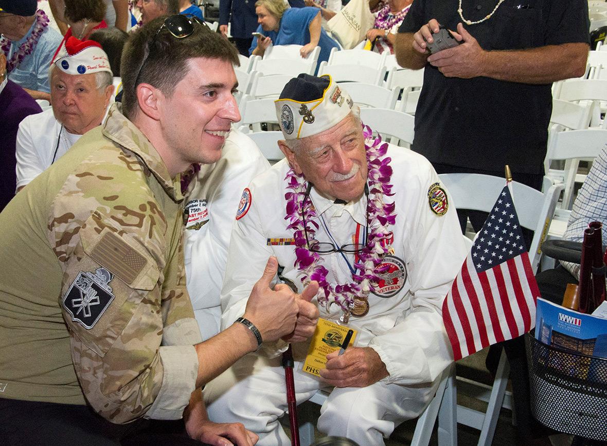 Pearl Harbor survivors