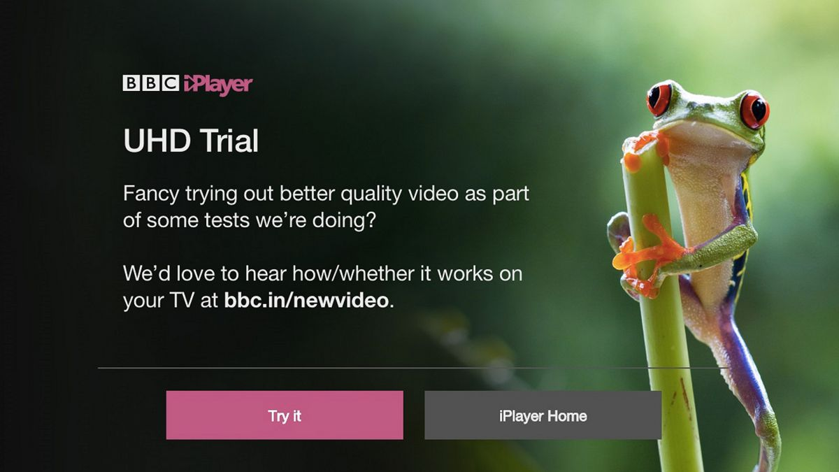 BBC UHD HDR trial