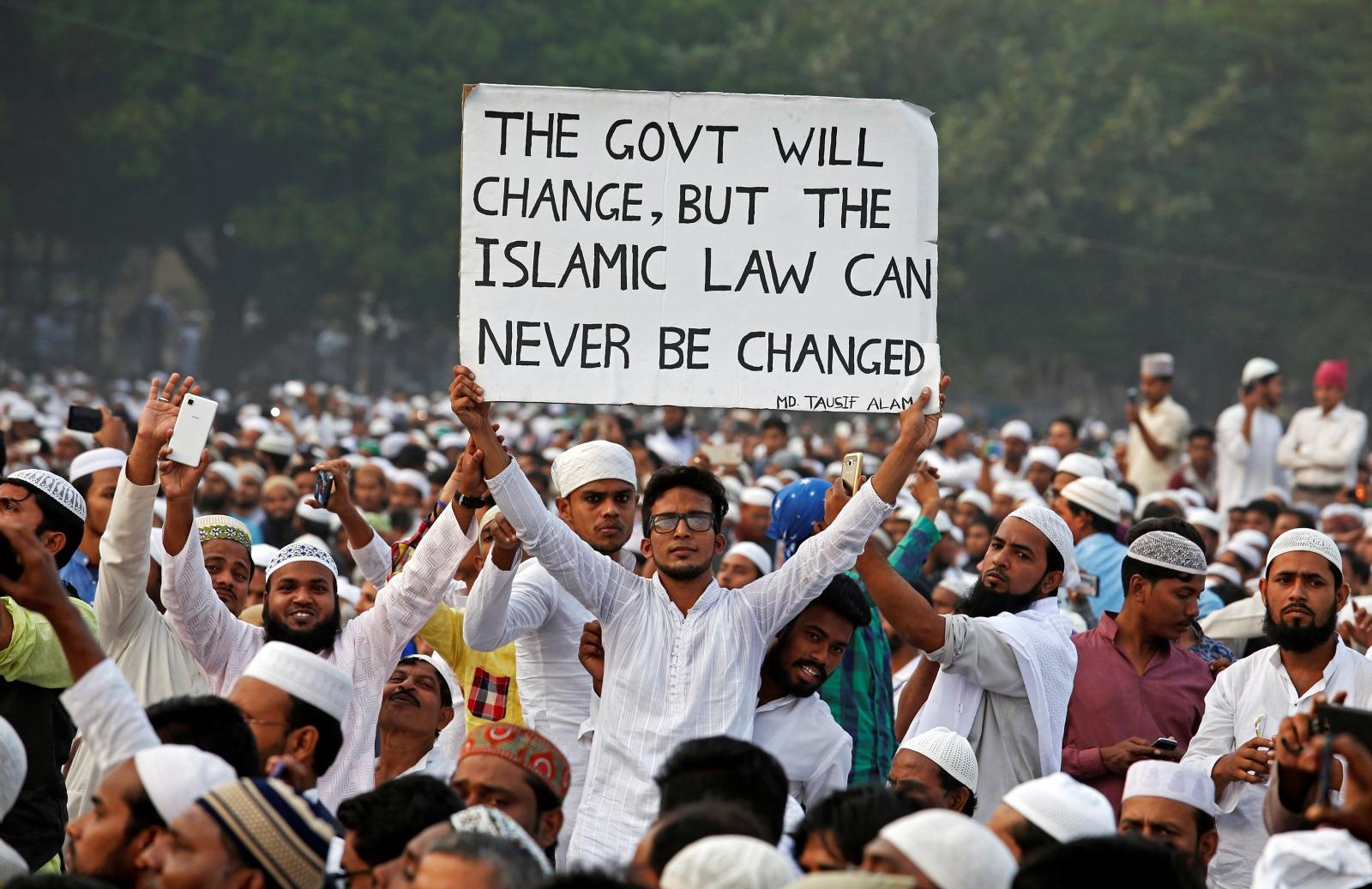 Indian Muslims Triple Talaq