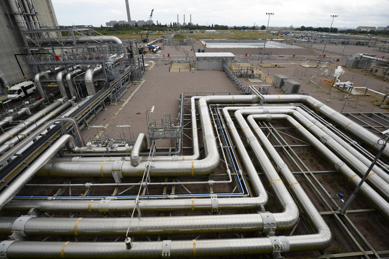 National Grid LNG plant, Isle of Grain