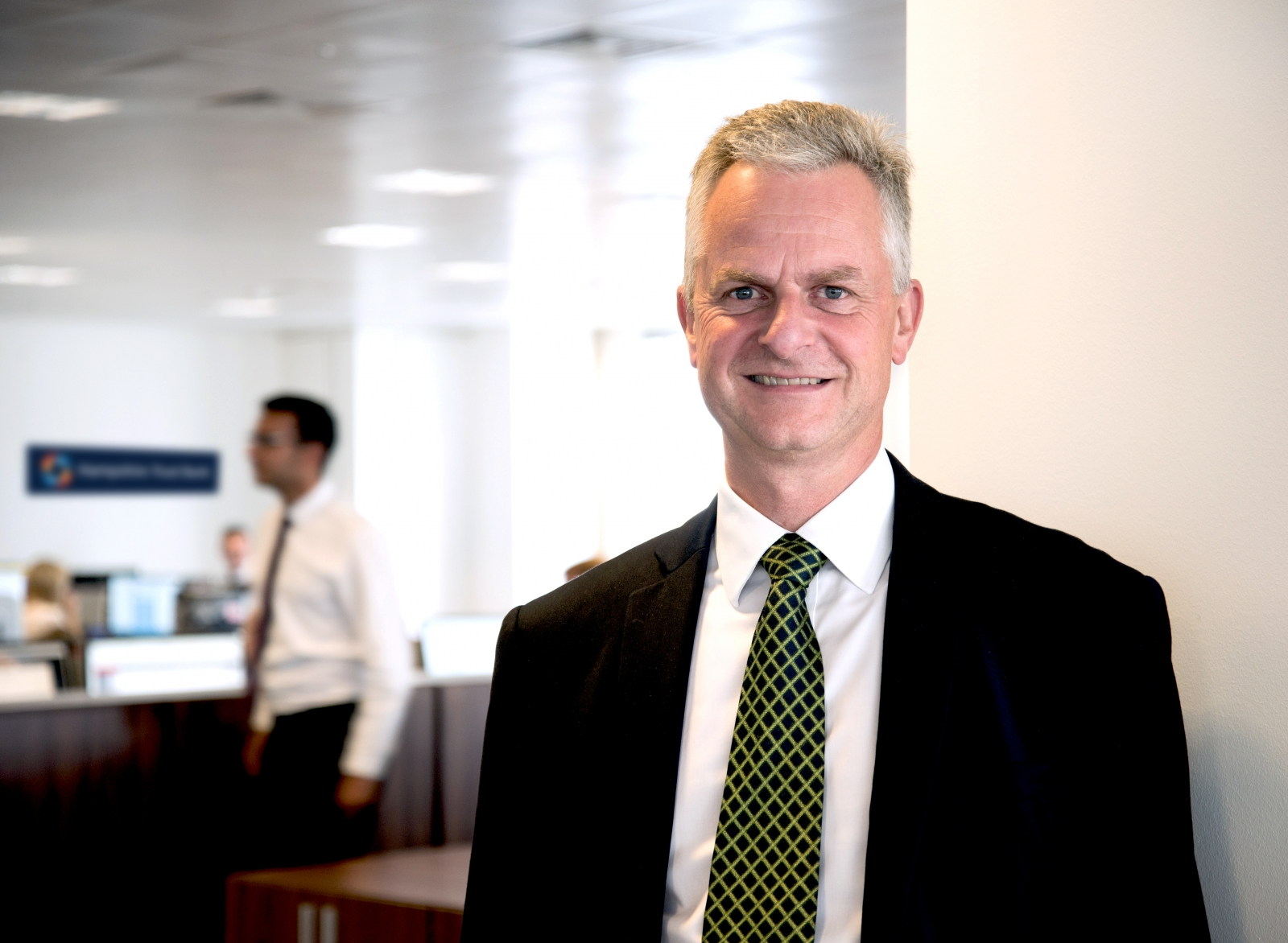 Hampshire Trust Bank CEO Mark Sismey-Durrant