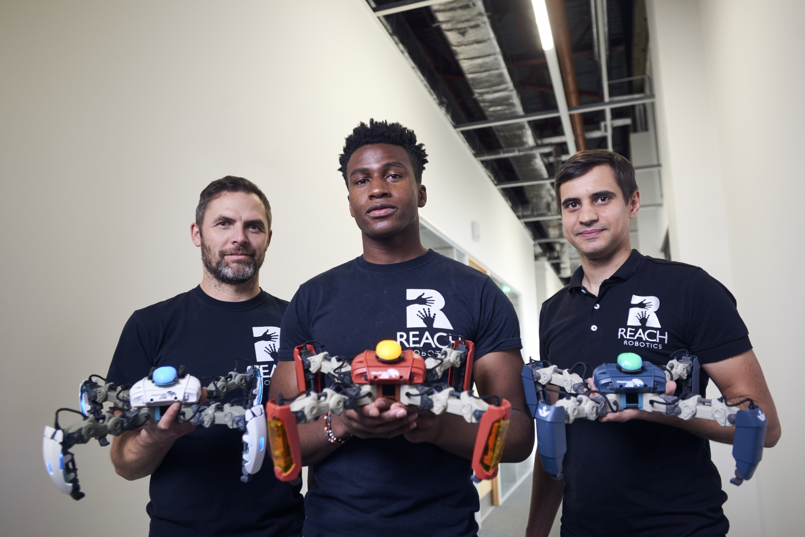 Reach Robotics founders