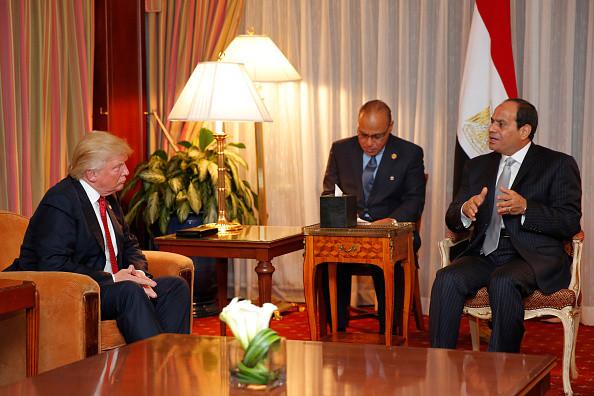 Al-Sisi and Trump