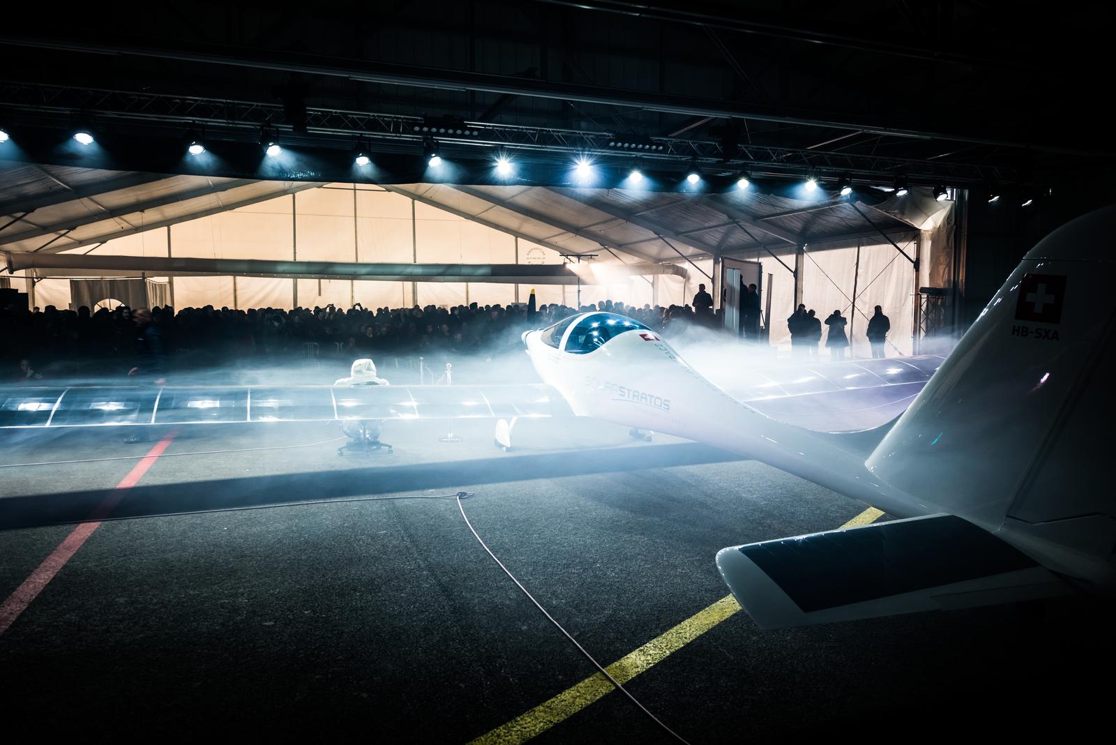 SolarStratos aircraft