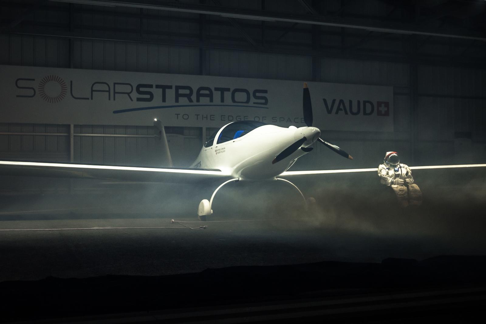 SolarStratos and pilot