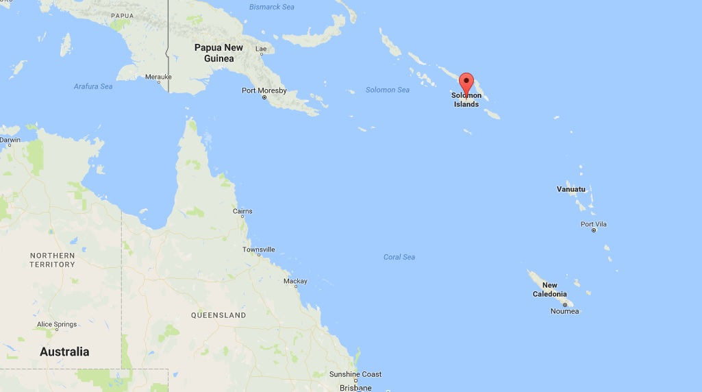 solomon islands earthquake