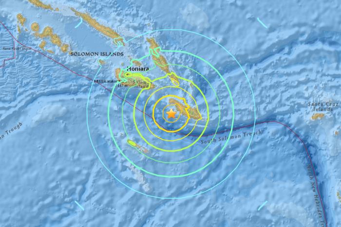 Solomon Islands USGS 8 December 2016