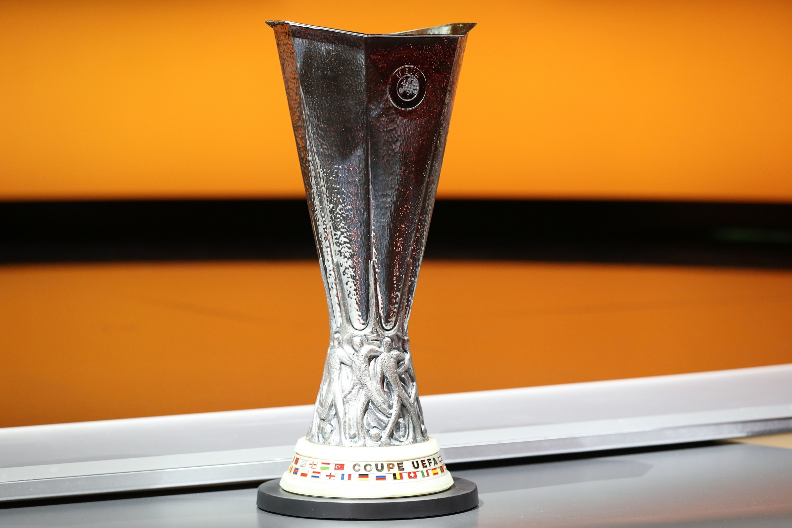 Europa League trophy