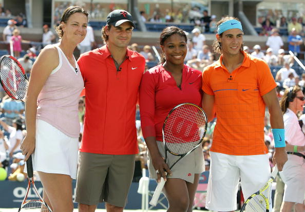 roger federer rafael nadal serena williams