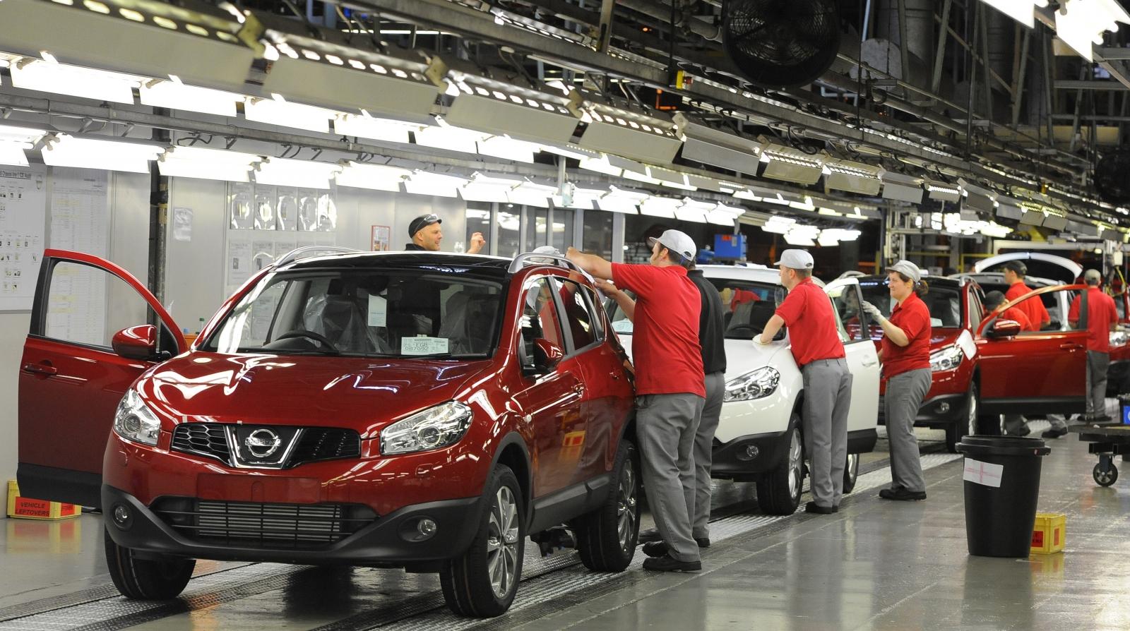 Nissan car plant, Sunderland