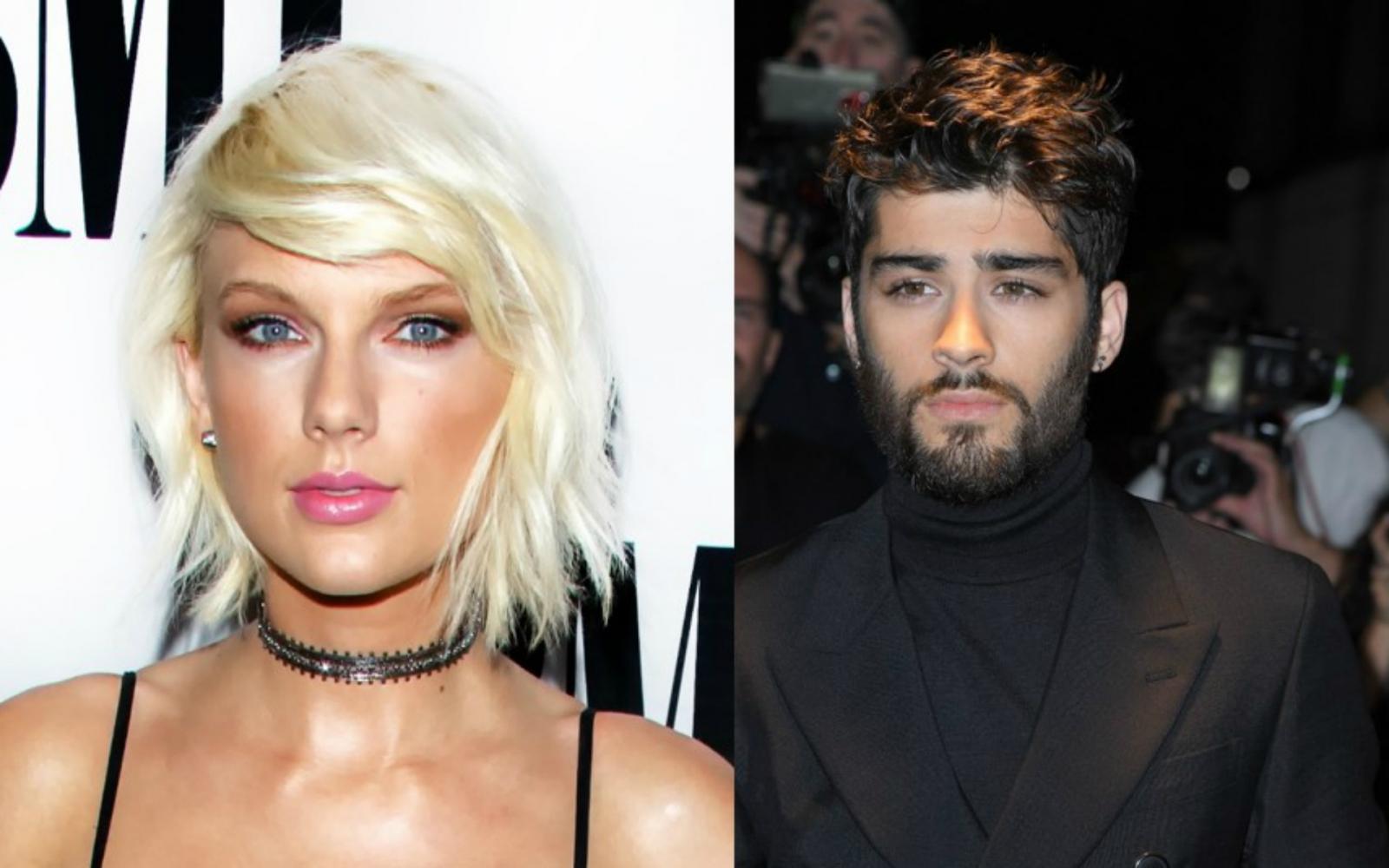 Taylor Swift and Zayn Malik