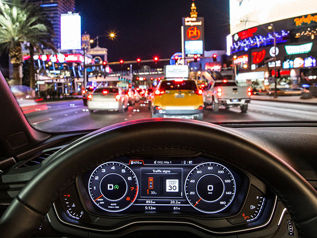 Audi vehicle to infrastructure tech