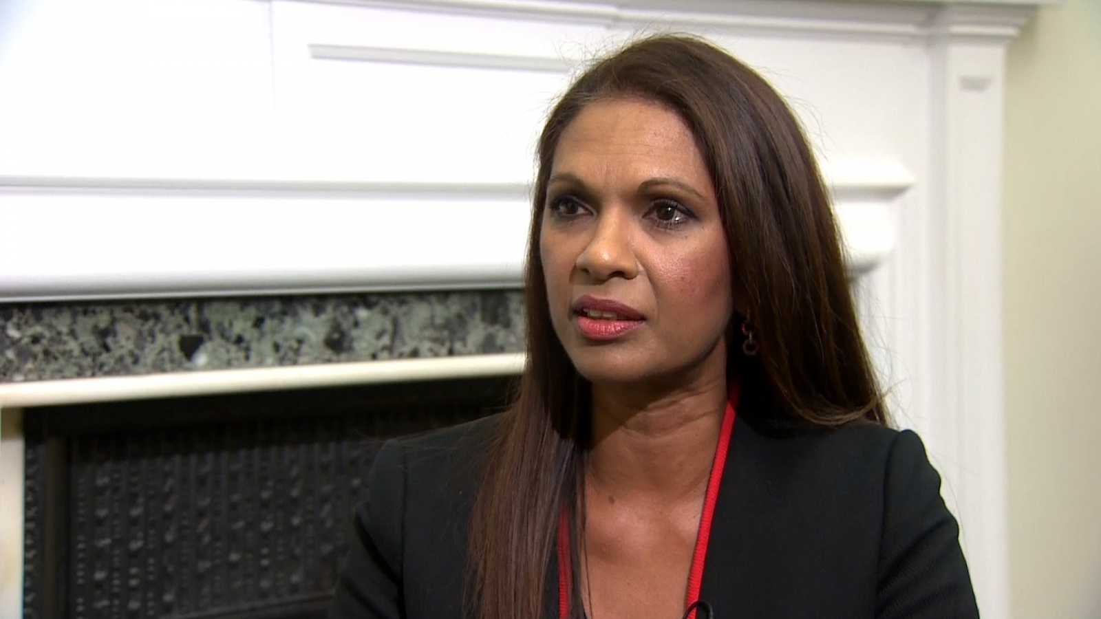 Gina Miller speaks after Supreme Court hearings
