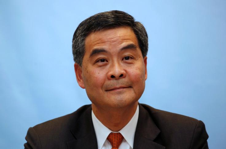 Hong Kong leader Leung Chun-ying