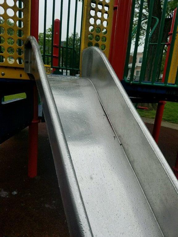 faulty slide