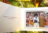Prince Charles and Duchess of Cornwall Christmascard