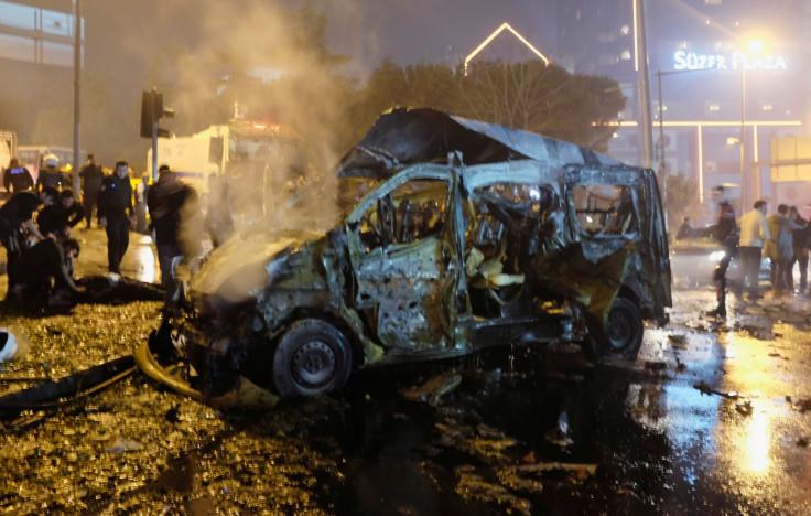 Istanbul, Turkey twin blasts
