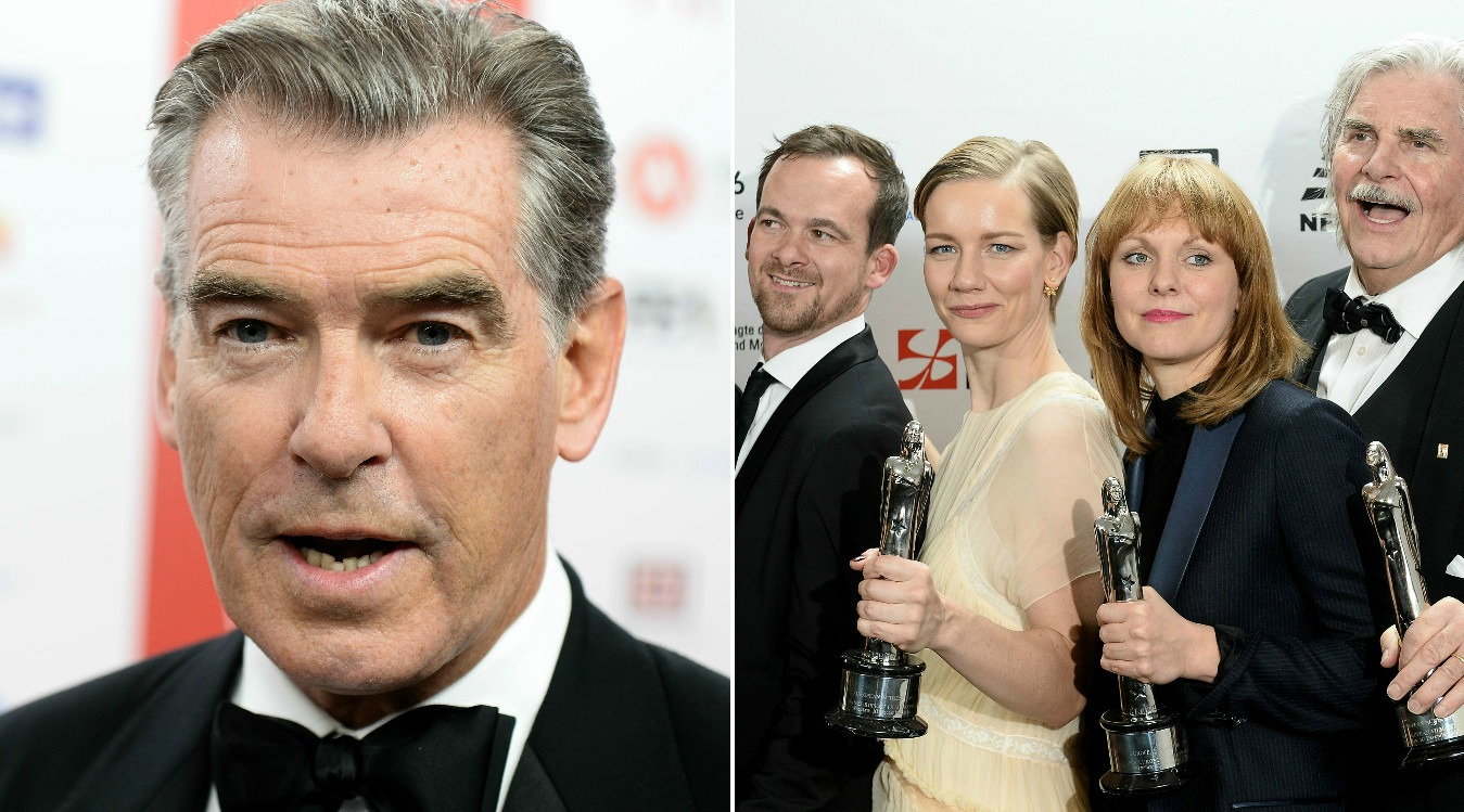 Pierce Brosnan awards
