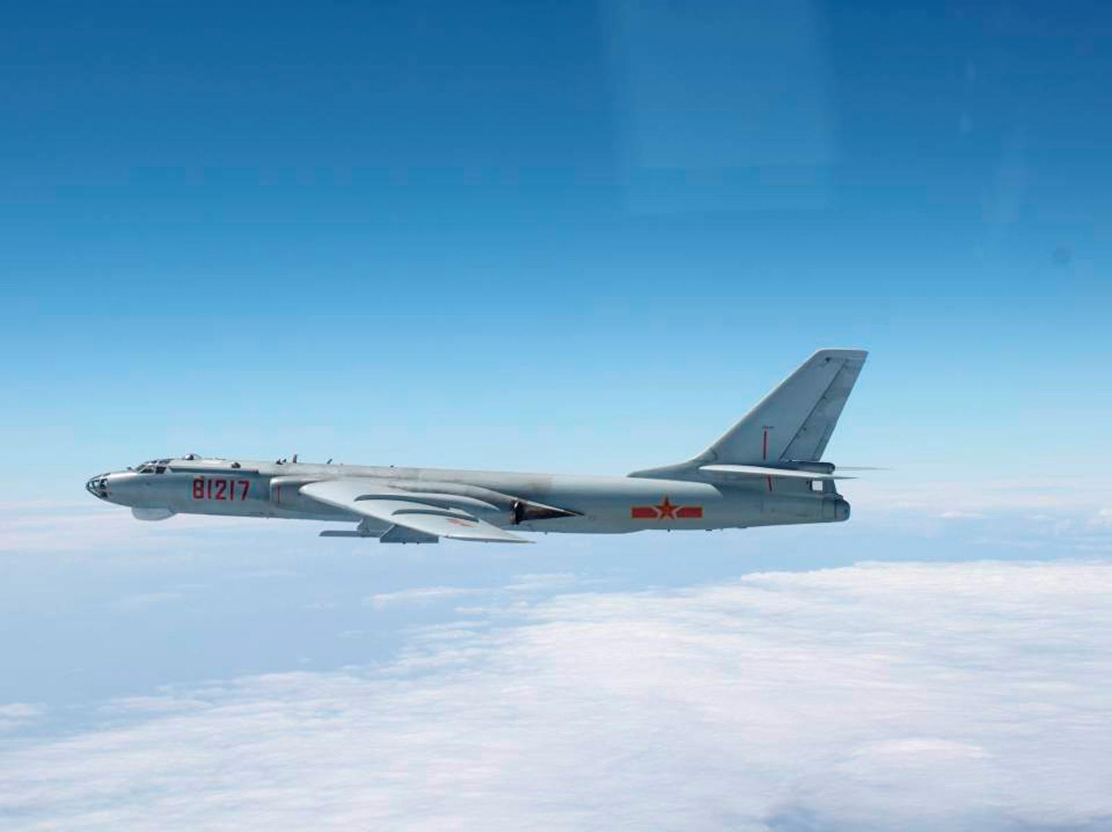 China warplane