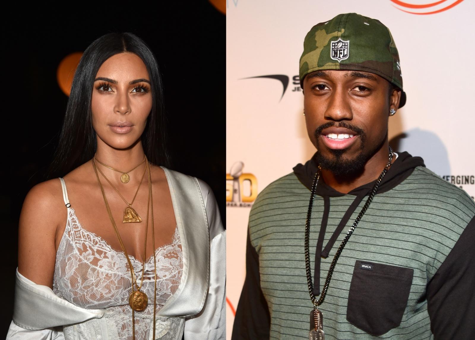 Kim Kardashian and Marquette King
