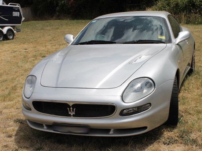 Luke Moore's Maserati