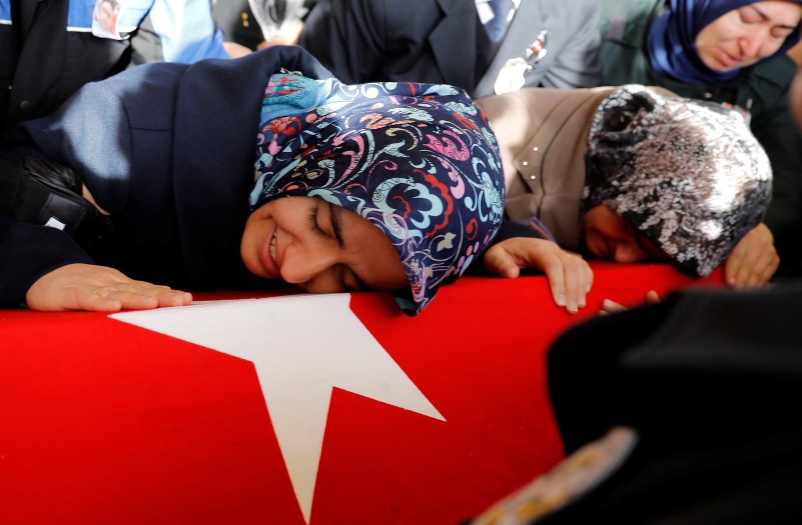 Turkey Besiktas bombing funeral 2016