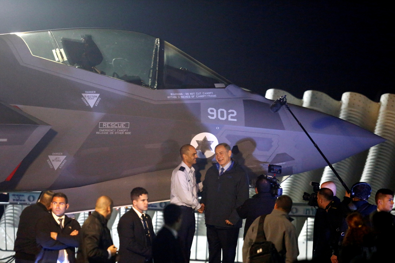F-35 fighter jets in Israel