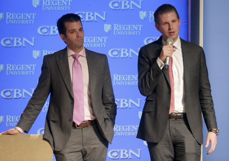 Donald Trump Jr. and Eric Trump