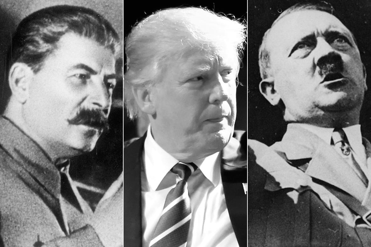 Stalin, Trump, Hitler
