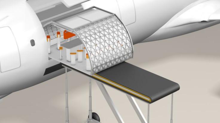 Airbus plane of the future modular cabin